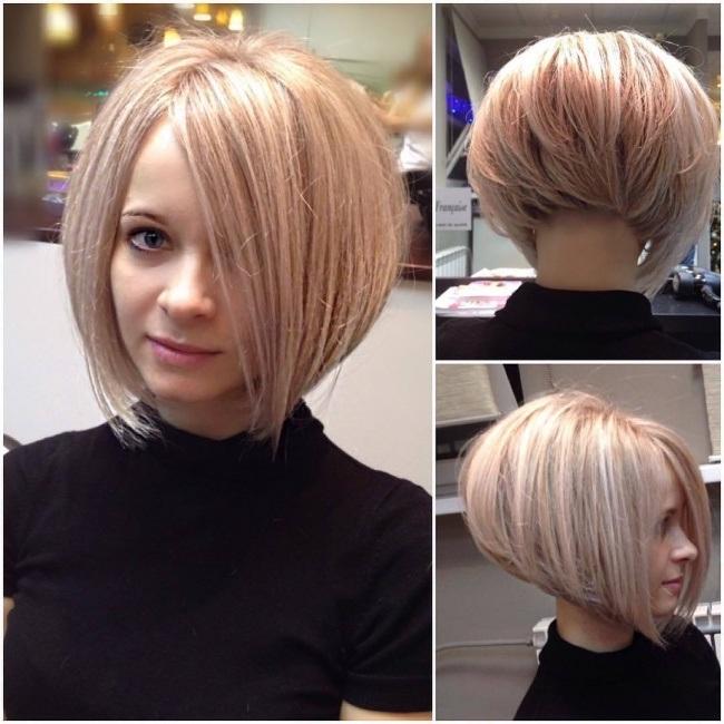 Coupes de cheveux et coloration des cheveux pour visage ovale